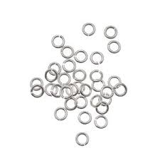 Sterling Silver Open Jumpring - 7mm, 16 gauge