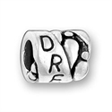 Sterling Large Hole Bead - Dream