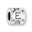 Sterling Large Hole Bead - Peace