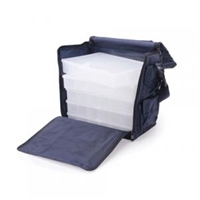 Fabric Storage Bag  - 11.5 x 7.5 x 11.2 inches - Black
