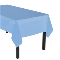 "Heavy Duty Plastic Tablecover - Rectangle 54"" x 108"""