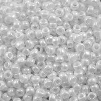 Taiwanese Size 11/0 Seed Bead - White Opaque Luster - 241