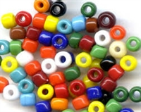 Taiwanese Size 6/0 E Bead - Opaque Mix