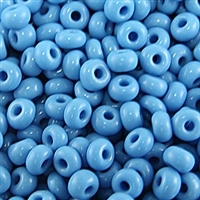 Taiwanese Size 6/0 E Bead - Opaque Turquoise #43