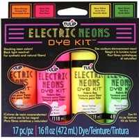 Tulip Electric Neons Dye Kit - Black Light Reactive