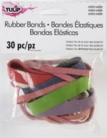 Tie Dye Rubber Bands Extra Wide