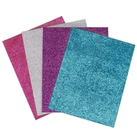 Tulip Fashion Glitter Iron-on Glitter Transfer Sheets - 4 pack - Urban