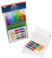 Pro Art Watercolor Cake Paint Set - 12 color