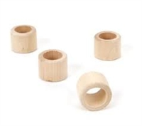 Wood Napkin Ring - Smooth