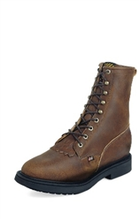 764 Justin - Steel-Toe - Lace - Aged Bark