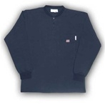 FR0101NV Rasco Henley T-Shirt - Navy