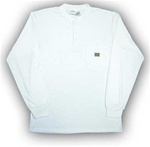 FR0101WH Rasco Henley T-Shirt - White