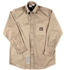 FR1303KH Rasco Button Work Shirt - Khaki
