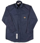 FR1303NV Rasco Button Work Shirt - Navy