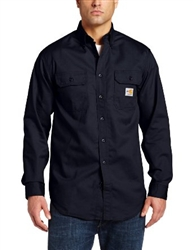 FRS160 Carhartt Button Work Shirt - Dark Navy