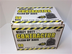 Contractor Black Bags 50 count