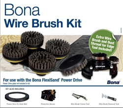 Bona Powerdrive Wire Brush kit