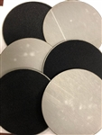 "5"" steel Velcro disc 1/8"" thick set of 6"