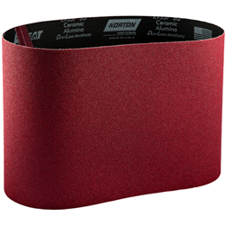 "Norton 8"" 120 Grit Red Heat Belt"