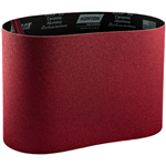 "Norton 8"" 24 Grit Red Heat Belt"