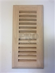 Self Rim Red Oak Vent