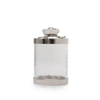 White Orchid Small Canister