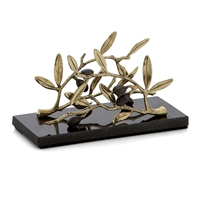 OLIVE BRANCH VERTICAL NAPKIN HOLDER