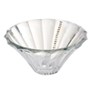 Italian Crystal Centerpiece Bowl w/ Swarovski Crystal Strands