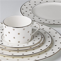 kate spade new york Larabee Rd Platinum 5-pc Place Setting by Lenox