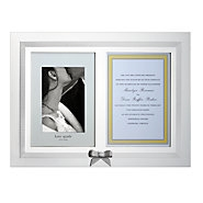 kate spade new york Grace Ave Double Invitation Frame by Lenox