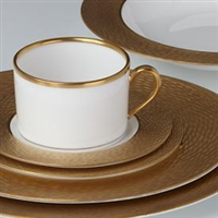 Marchesa Mandarin Gold 5-piece Place Setting by Lenox