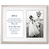 kate spade new york Rosy Glow Double Invitation Frame by Lenox