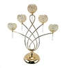 Designs 5 Ball Footed Weave Metal Candleholder