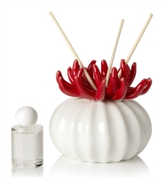 Debora Carlucci Coral Diffuser W/ Frosted Porcelain Bottom