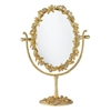 Cornelia Oval Magnified Standing Mirror