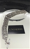 Fashion jewelry by UNOAERRE 18kt White Gold Plated Bracelet