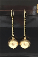 UNOAERRE by UNOAERRE 18kt Gold Plated Pendant Earrings
