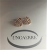 UNOAERRE by UNOAERRE Earrings In Rose' Brass