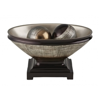 Naomi Decorative Bowl With Spheres