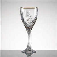 Debut® Gold Crystal Wine Glass by Lenox