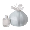 Italian Bone China Decorative Aromatherapy Diffuser with Butterfly Top