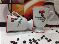 Mugs set of 4 Cappuccino d'Italia