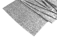 Wide 18x108 GLITZ Sequin Table Runner - Silver