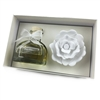 Ceramic Gypsum Flower Set Diffuser- Chantel