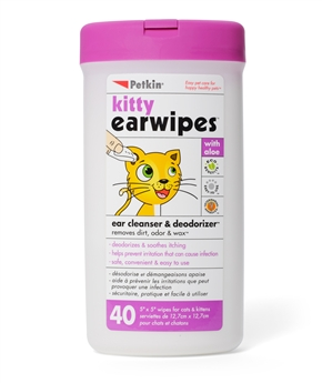 Kitty Ear Wipes (40ct)