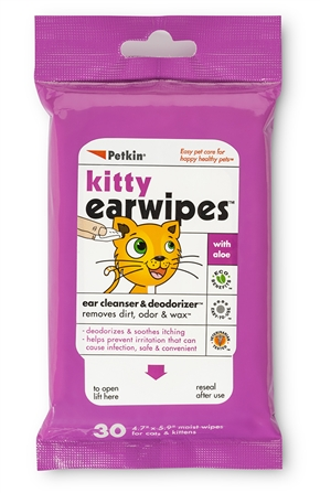 Kitty Ear Wipes 30ct