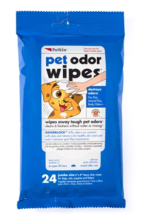 Pet Odor Wipes
