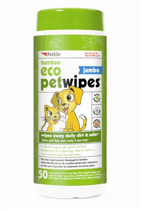 Jumbo Pet Wipes (50ct)
