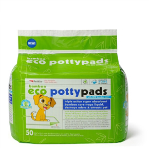 Bamboo Eco Potty Pads (50ct)