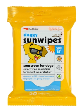 Doggy Sunwipes (4oz)